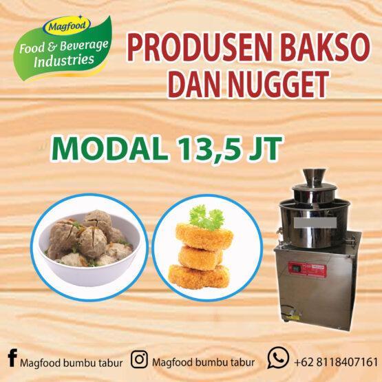 Nugget Ayam Tahu: MAGFOOD PAKET USAHA ANEKA BAKSOMagfood
