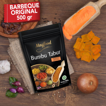 barbeque original 500 gram splash