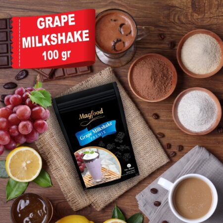 grape milkshake 100 gram